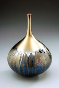 Black and Gold Vase