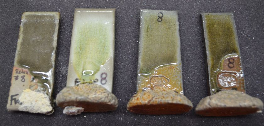 Palm Ash 37 - Nepheline Syenite 57 - Redart 10