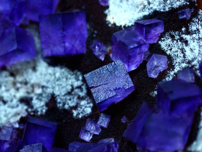 Cobalt Blue Flourite