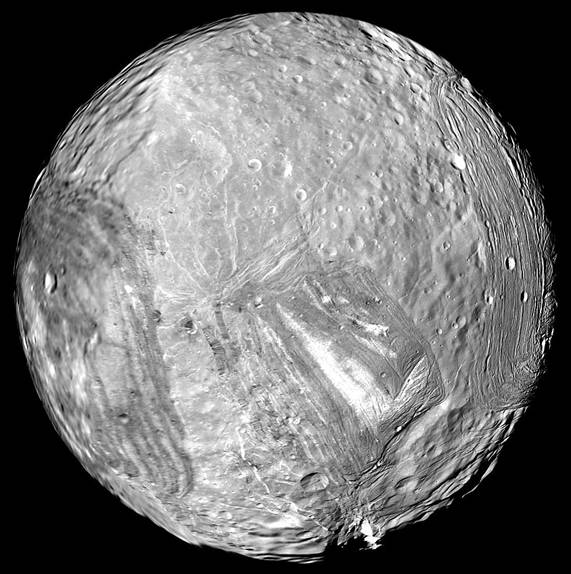 Miranda - Uranus Moon