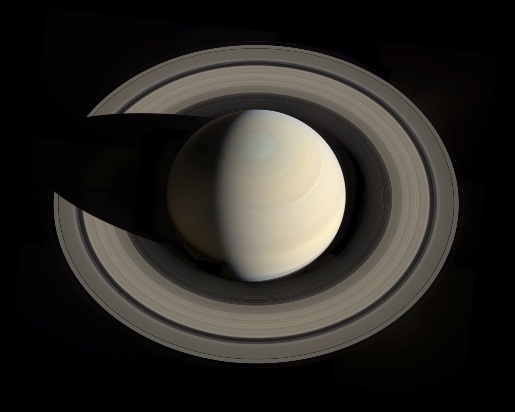 Another amazing image compiled from Cassini