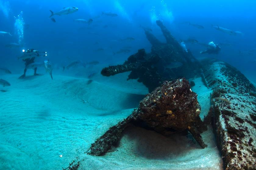 North Carolina Coast Wreckage from 1942 Battle of Atlantic