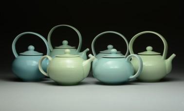 Teapots 1-6