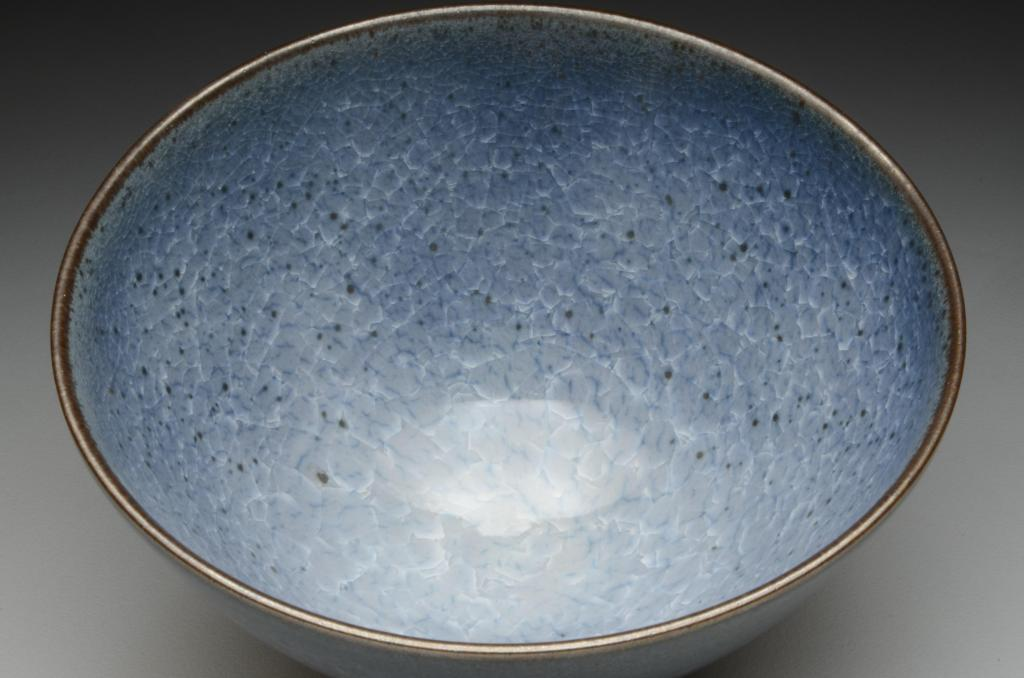 Matt Fiske - Blue Crackle Bowl