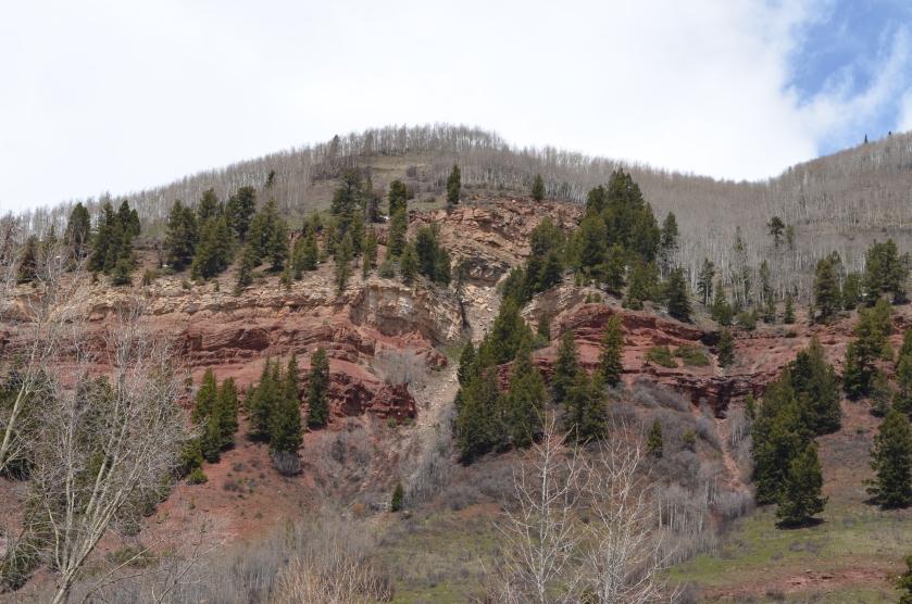 The San Juan Rocky Mountains.