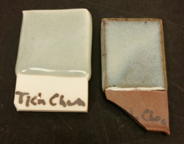 Fiske's Tichane Chun with 1.5% Red Iron Oxide. Fired to C10 in Reduction.