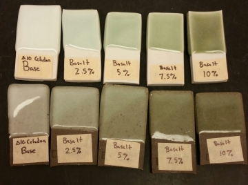 Celadon with 0-10% Basalt