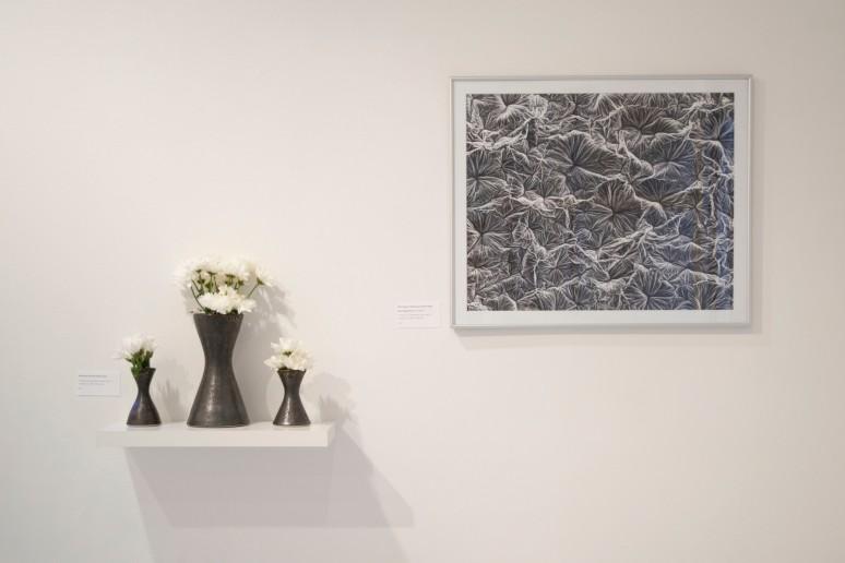 Manganese Saturate Glazed Vases, SEM Image of Mn. Glaze